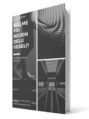 Kaj me pri mojem delu veseli. Milan Krajnc. E-knjiga.