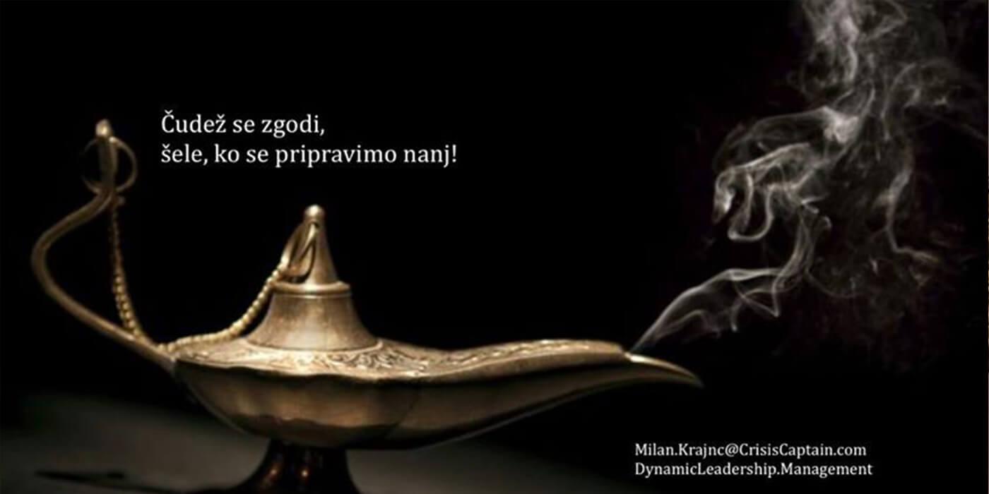 Ker se sam nisem znalu ustavit, sem ustavil svet - Milan Krajnc