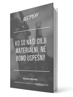 Ko so naši cilji materialni, ne bomo uspešni. Milan Krajnc. E-knjiga.