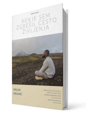 Nekje sem zgrešil cesto življenja. Milan Krajnc. E-knjiga.