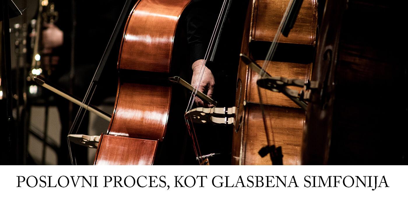 Poslovni proces, kot glasbena sinfonija - Milan Krajnc