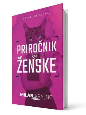 Priročnik za ženske, da bo moškim lažje. Milan Krajnc. Tiskana knjiga.