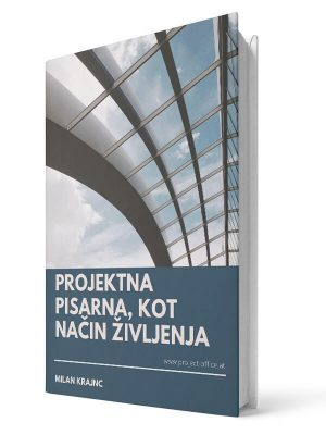 Projektna pisarna, kot način življenja. Milan Krajnc. E-knjiga.