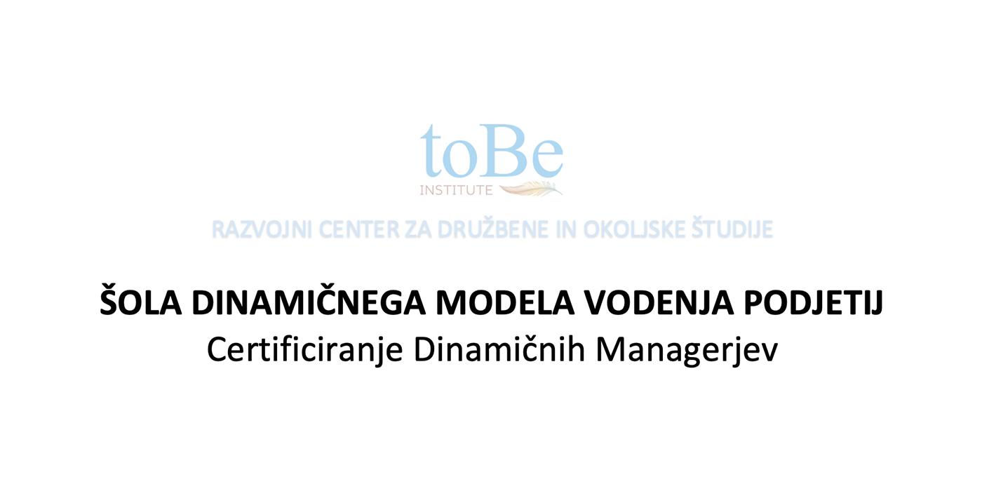 Šola Dinamičnega Modela Vodenja Za Podjetja - Milan Krajnc