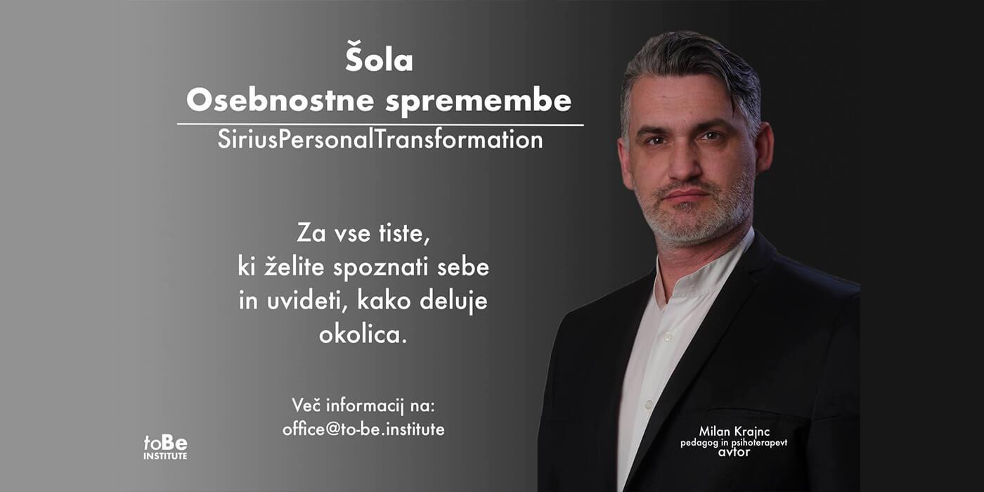 Šola Osebnostne spremembe - Milan Krajnc