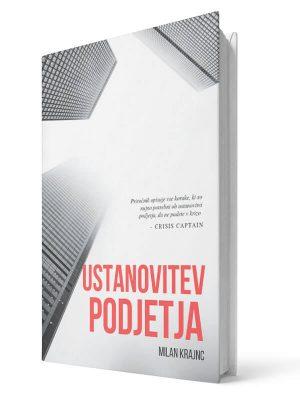 Ustanovitev podjetja. Milan Krajnc. E-knjiga.